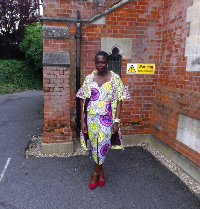 My African Closet- print cape